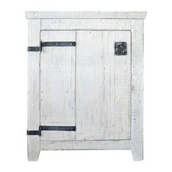 """Native Trails - Native Trails 24"""" Americana Vanity in Whitewash - *Crafted from recycled wood for exceptional strength"""