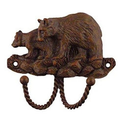 Sierra Lifestyles Decorative Hook - Black Bear - Rust - Get Idea About Sierra Lifestyles Decorative Hook - Black Bear - Rust. Sierra Lifestyles  Cabinet Hardware, Cabinet  Knobs, Cabinet Pulls , Switch plates, Rustic cabinet hardware, Double Hook, Hook, Decorative Hook, Knobs, Pulls and Decorative Hardware Accessories