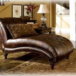 Stylish Seating - Claremore - Antique Chaise