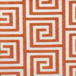 Palladio - Tangerine Upholstery Fabric - Item #1009788-35.