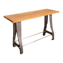 Shuttle Console Table, Reclaimed Wood/Large