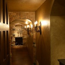 Mediterranean Wine Cellar by One Room at a Time, Inc.