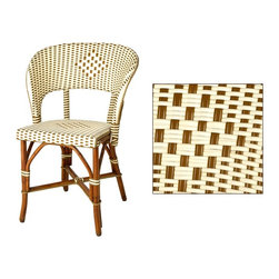 HK Designs Bistro Chair - We love classic bistro chairs, they wear well and are comfortable. We could see this on a patio, covered porch or at a kitchen table, bringing that French bistro feel to your home.