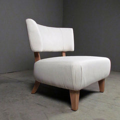 modern chairs by red - modern lines . vintage finds