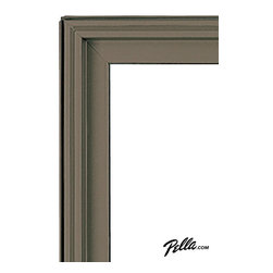 EnduraClad® Exterior Finish in Portobello - Available on Pella Architect Series® and Designer Series® wood windows and patio doors, EnduraClad exterior finishes offer 27 standard and virtually unlimited custom color options.