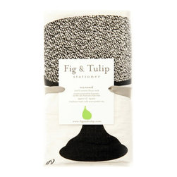 Fig & Tulip - Cake Tea Towel - With this tea towel you can have your cake, but we suggest not eating it too. You can, however, make a similarly delicious-looking cake and then use this towel to easily clean up afterwards.