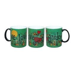"Westland - 4 Inch ""Live Love Garden"" Ceramic Coffee Mug, Holds 14 Ounces - This gorgeous 4 Inch ""Live Love Garden"" Ceramic Coffee Mug, Holds 14 Ounces has the finest details and highest quality you will find anywhere! 4 Inch ""Live Love Garden"" Ceramic Coffee Mug, Holds 14 Ounces is truly remarkable."