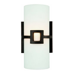 "Design House - Design House Monroe 1-Light Wall Sconce, 11 x 5.75"", Oil Rubbed Bronze - Design House 514604 Monroe 1-Light Wall Sconce, 11"" by 5.75"", Oil Rubbed BronzeUses 1-60W bulb (not included)A beautiful accent to any wallWall mount, Back plate: 4.75"" DiameterOil Rubbed Bronze Finish with painted glassUL listed to insure the highest qualityNeed more information on this product? Click here to ask."