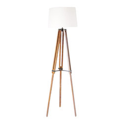 Contemporary Tripod White Shade Floor Lamp Decoration Lightings - Add warmth to your home by putting this Contemporary Tripod White Shade Floor Lamp Decoration Lightings in your living room,kitchen,or children's bedroom.Once you put this lamp, you'll start critiquing every other lighting fixture in the house. The light's unique design will change the way you think about illuminating a room.More Table Lamp,Pendant Lighting and Floor Lamp are waiting for you in www.parrotuncle.com!
