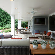 Traditional Patio by Michelle Miller Interiors