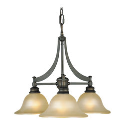 Murray Feiss - Murray Feiss F1922/3ORB Pub 3 Bulb Oil Rubbed Bronze Chandelier - Murray Feiss F1922/3ORB Pub 3 Bulb Oil Rubbed Bronze Chandelier