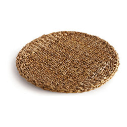 Origin Crafts - Seagrass round placemats set/8 - Seagrass Round Placemats Set/8 Dimensions (in):15.5 x 15.5 By Napa Home & Garden - Napa Home & Garden is a wholesale manufacturer of distinctive home & garden decorative accessories. Ships within Five Business days. Please be aware that some products are handmade and unique therefore there may be slight variations in each individual product.