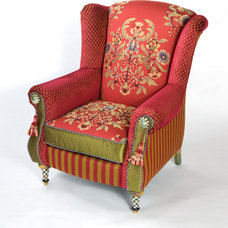 Eclectic Armchairs by MacKenzie-Childs