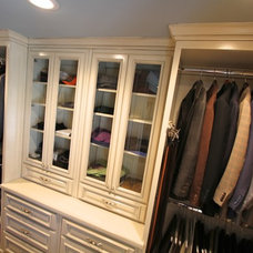 Traditional Closet by Housley Enterprises