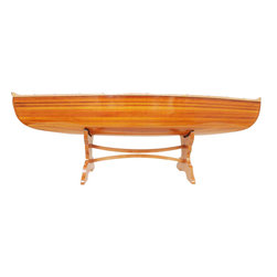 EuroLux Home - New 5-Foot Table Canoe OM-102 - Product Details