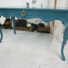 Again & Again Inventory / Teal French Desk