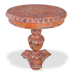 Roberta Accent Table, Barcelona Distressed - Roberta Accent Table, Barcelona Distressed