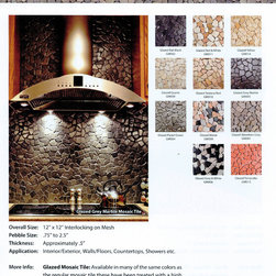 Pebble Tiles -- Natural Stone Pebble Tiles -