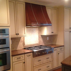 Copper range hoods - Beautiful copper range hood, French Country design.