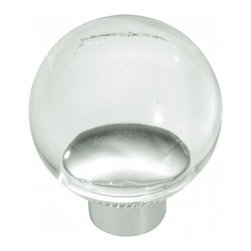 """Belwith Hickory Hardware - 1-1/4"""" Diameter Eclectic Knob - Lucite - 1-1/4"""" Diameter Eclectic Knob - Lucite"""