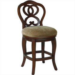 """Hammary - Hidden Treasures Counter Height Barstool - """"Hammary's Hidden Treasures collection is a fine assortment of unique accent pieces inspired by some of the greatest designs the world over. Each selection is rich in Old World icons and traditions."""