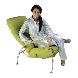 Modern Lounge Chairs - Billie Recliner Chair.  Modern Reclining Chairs by Lafer Recliners available at Accurato Furniture Store www.Accurato.com