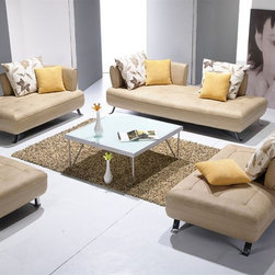 Luxury Furniture Italian Leather Upholstery - Dimensions: