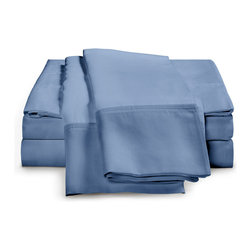 ExceptionalSheets - 600 Thread Count - Egyptian Cotton Sheet Set by ExceptionalSheets - Our 100% Egyptian Cotton Sheets cannot be beaten when it comes to the price. You will not find better quality at a better price! They're available in multiple size ranges and colors making up almost 200 options! Whether the sheets are a gift for a friend or you are buying for yourself, you know you are getting top-quality luxury with Exceptional Sheets.