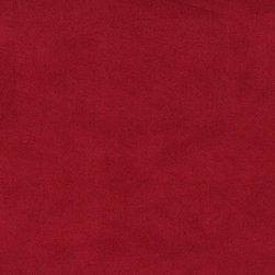 Burgundy Microsuede Suede Upholstery Fabric By The Yard - Our microsuede upholstery fabric will look great on any piece of furniture. This material is easy to clean and is very durable.