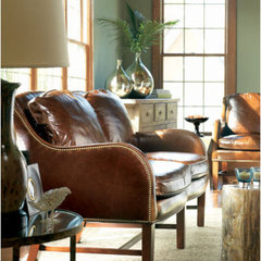 eclectic love seats by Left Bank Home