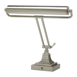 House of Troy - House of Troy P15-83-52 Satin Nickel Desk Lamp - House of Troy P15-83-52 Satin Nickel Desk Lamp
