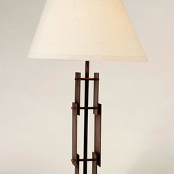 Trend Lighting - Trend Lighting TT5450 Architect 1 Light Table Lamps in Antique Bronze - This 1 light Table Lamp from the Architect collection by Trend Lighting will enhance your home with a perfect mix of form and function. The features include a Antique Bronze finish applied by experts. This item qualifies for free shipping!