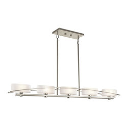 Kichler Lighting - Kichler Lighting 42018NI Suspension Transitional Chandelier - Kichler Lighting 42018NI Suspension Transitional Chandelier