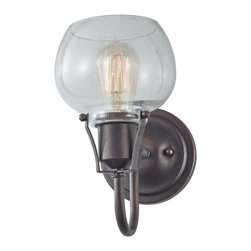 Murray Feiss - Murray Feiss MRF-WB1702-RI Urban Renewal Transitional Wall Sconce - Murray Feiss MRF-WB1702-RI Urban Renewal Transitional Wall Sconce