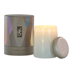 ACDC - Luxury Scented Soy Candles, Fumoso Cedar - Like a cozy campfire, romantic smoked cedar wood is seductively paired with aromatic rosemary, wild moss & golden amber, and finished with whispers of patchouli, lemon and incense. The perfect feu de bois home fragrance for autumn, fall, or for men.