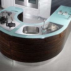 Modern Kitchen Cabinets by Italian Kitchen and Bath