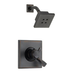 Delta - Delta T17251-RBH2O Dryden Monitor 17 Series Shower Trim (Venetian Bronze) - The contemporary, elegant style and blocked design of the Dryden collection brings a soft, sophisticated look to your home.