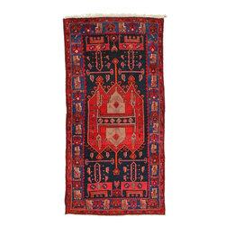 eSaleRugs - 4' 5 x 8' 8 Sirjan Persian Rug - SKU: 22157147 - Hand Knotted Sirjan rug. Made of 100% Wool. 30-35 Years.