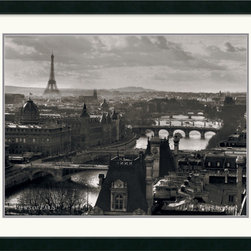 Amanti Art - Views of Paris - The River Seine Framed Print - Maybe you've never been or maybe you've been 20 times. Either way, you'll never tire of gazing at the views of the City of Love. Paris is majestic from any angle and now you can enjoy it every day in your own home.
