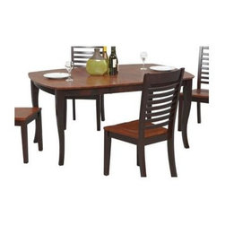 Winners Only - Santa Fe Dining Table w Leaf - Chairs not included. One 16 in. butterfly leaf. Tapered legs. No assembly required. Minimum: 48 in. L x 42 in. W x 30 in. H. Maximum: 64 in. L x 42 in. W x 30 in. H