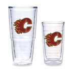 Tervis - Tervis NHL Calgary Flames Tumbler - This fun NHL logo drinkware is ideal for everyday use and makes a wonderful gift. The insulated tumbler keeps hot drinks hot and cold drinks cold, while reducing condensation and preventing water rings on your furniture.