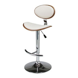 Pastel - Hydraulic Lift Barstool - The Joffrey barstool is a beautifully made with a simple yet elegant design that is perfect for any decor. An ideal way to add a touch of modern flair to any dining or entertaining area in your home.