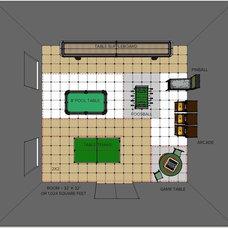 Floor Plan by Steven Corley Randel, Architect