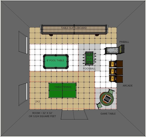 Floor Plan by Steven Corley Randel, Architect