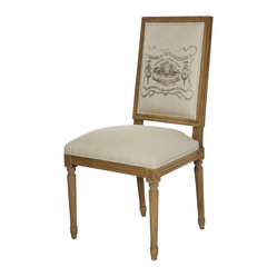 Louis Side Chair - Natural/Reclaimed