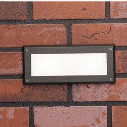 Kichler Lighting - Kichler Lighting 15774AZT Outdoor Led 2 Light Deck/Step Lighting - Deck LED 2W Brick Light Landscape