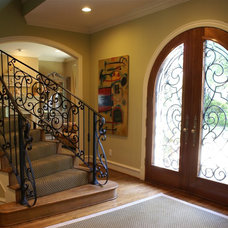 Traditional Entry by SLIC Interiors