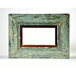 New Orleans Reclaimed Wood Antique Beadboard Frame, 5x7, Made to Order -