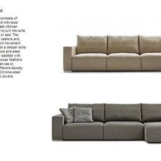 Contemporary Sofas by Khrome Studios