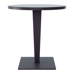 Riva Werzalit Top Round Dining Table 27.5 Inch